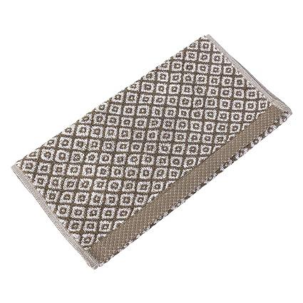 Toalla invitados 33 x 50 cm Shibori Mosaic Beige 500 G/m2
