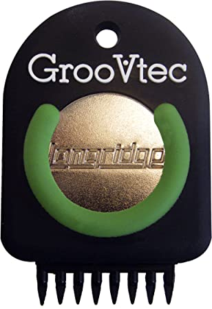 LONGRIDGE Groovtec - Limpiador para cabeza de palo de golf ...