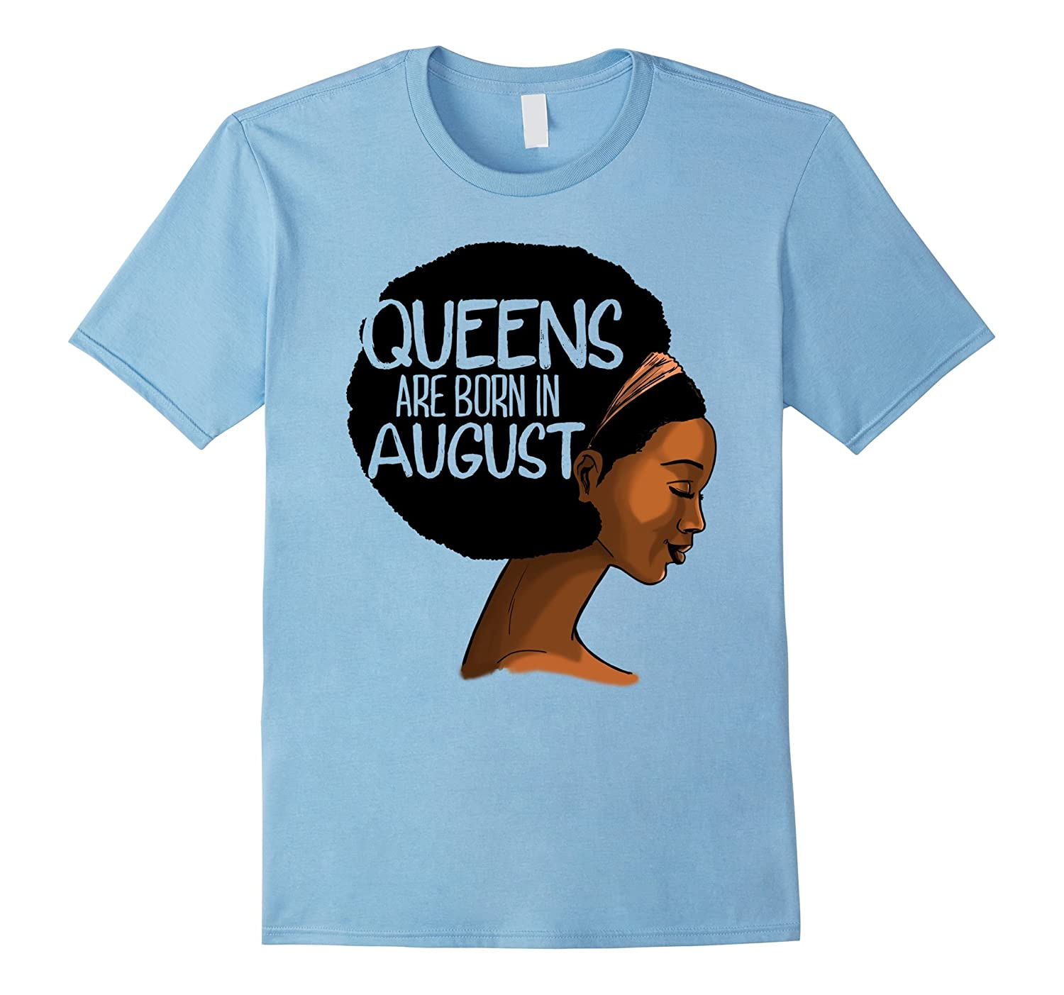 Black Queens Are Born In August Graphic T-Shirt-TH