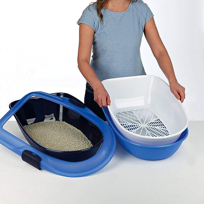 Amazon.com: MISC - Caja de arena para gatos o gatos, color ...