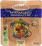 Babybio Sachet Ratatouille à la Provençale/Riz 190 g - Lot de 6
