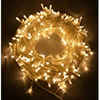 Proxima Direct® 100/200/300/400/500 LEDs String Fairy Lights for Christmas Tree Party Wedding Events Garden (8 Operation Modes, memory function) - Top Quality (Warm white, 300 LEDs)