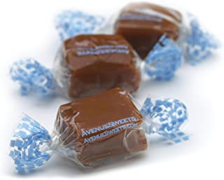 product image for AvenueSweets - Handcrafted Individually Wrapped Soft Caramels - 1 lb Box - (Sea Salt)