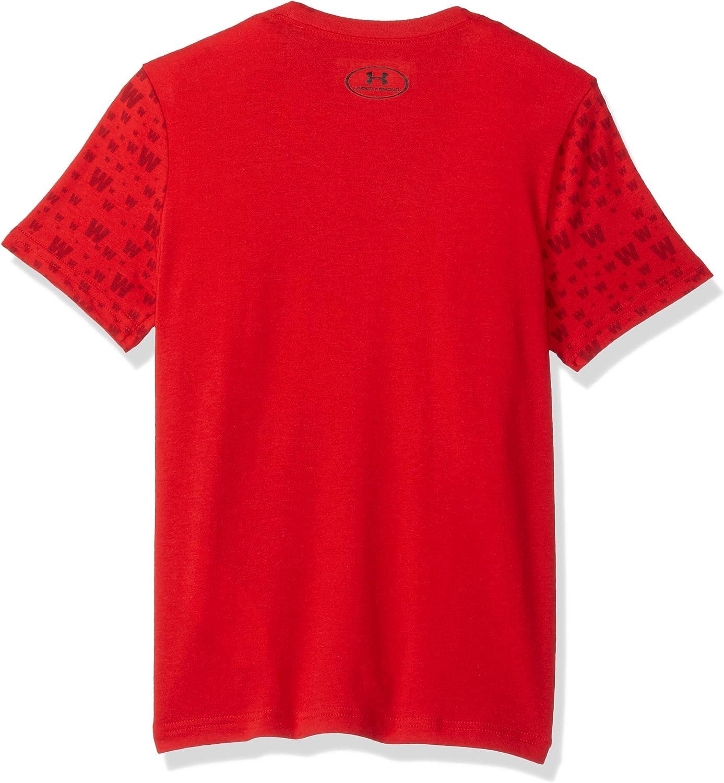 Under Armour Boys Less Talk More Ws T-Shirt
