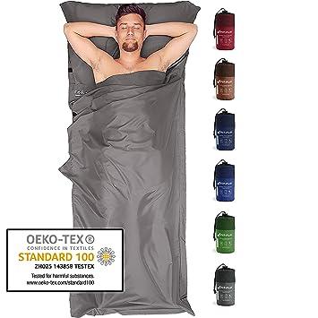 Fit-Flip Saco de Dormir Ligero para el tamaño de Paquete pequeño ...