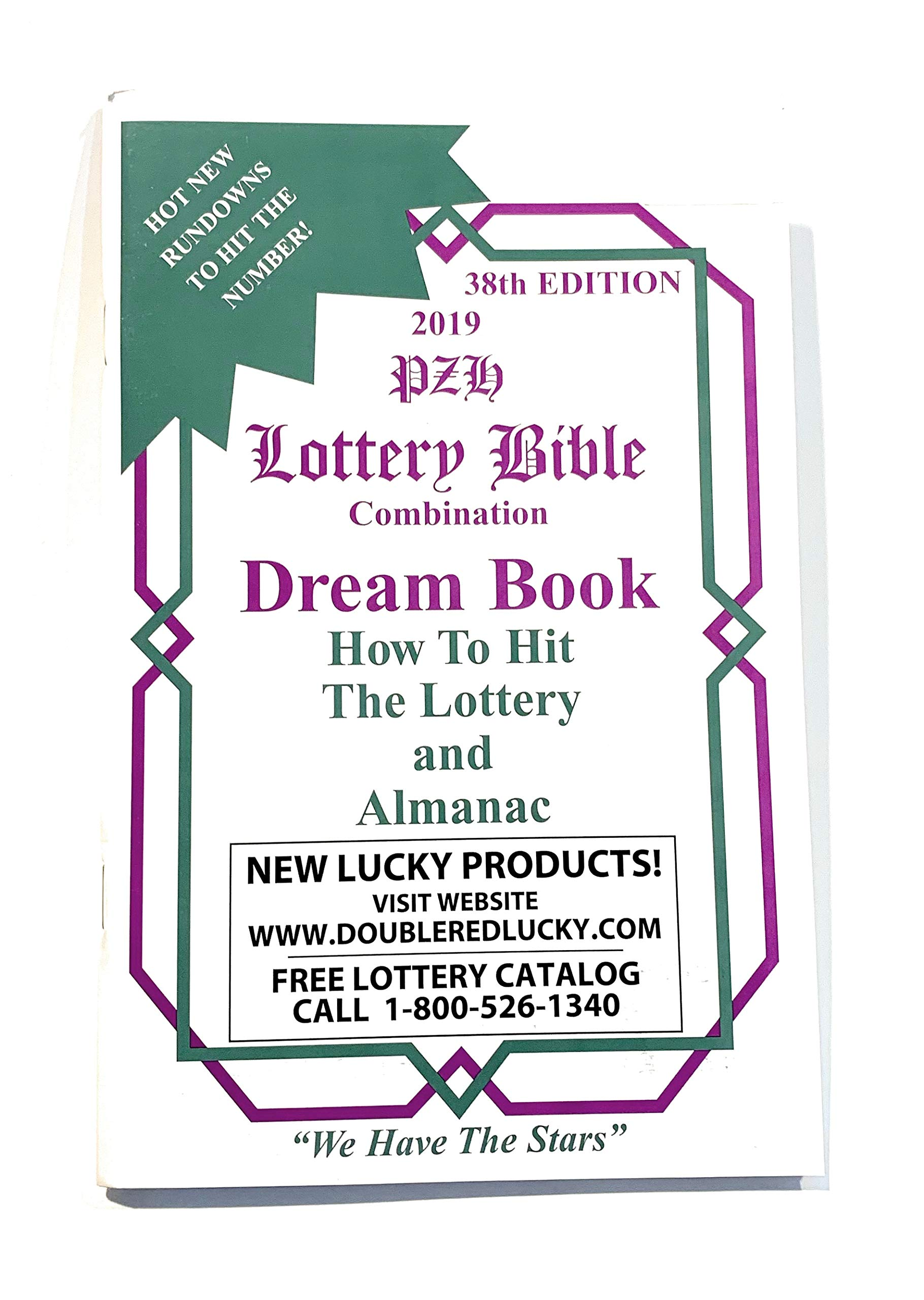Lottery Bible Combination Dream Book 2019: Double Red Lucky