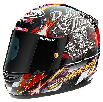 Suomy KSA0019.5 - Casco de moto, multicolor, L
