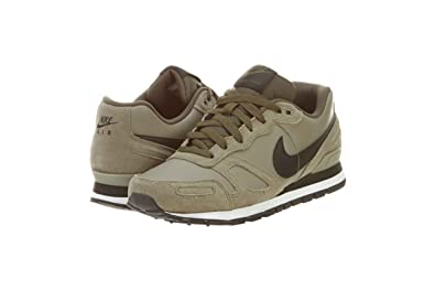 new product db34d 20638 ... get nike mens air waffle trainer leather khaki black 454395 301 b4c05  cf62f