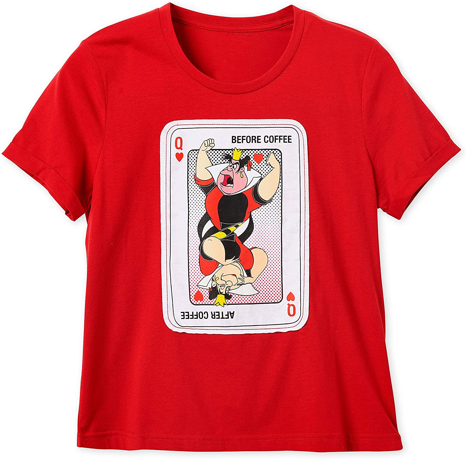 Queen of Everything Red Juniors Soft T-Shirt