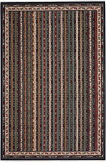 "product image for Capel Rugs Biltmore Salva-Bazaar Area Rug, 5' 3"" x 7' 10"", Navy Multi"