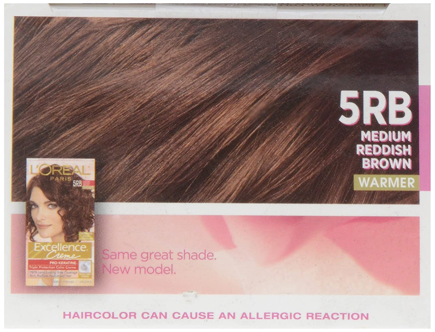 Loreal excellence 5rb medium red brown hair color 1 ct amazon loreal excellence 5rb medium red brown hair color 1 ct amazon grocery gourmet food geenschuldenfo Images