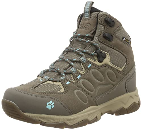 Womens Mountain Attack 5 Texapore High Rise Hiking Boots, One Size Jack Wolfskin