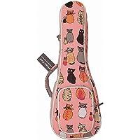 """MUSIC FIRST cotton 21"""" Soprano MISS CAT ukulele case ukulele bag ukulele cover New Arrial Original Design Best Christmas…"""