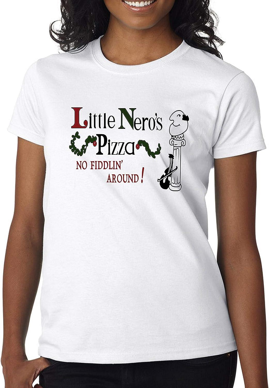 Home Alone Little Nero's Pizza Movie Fan Women' s Shirt Custom Made T-Shirt