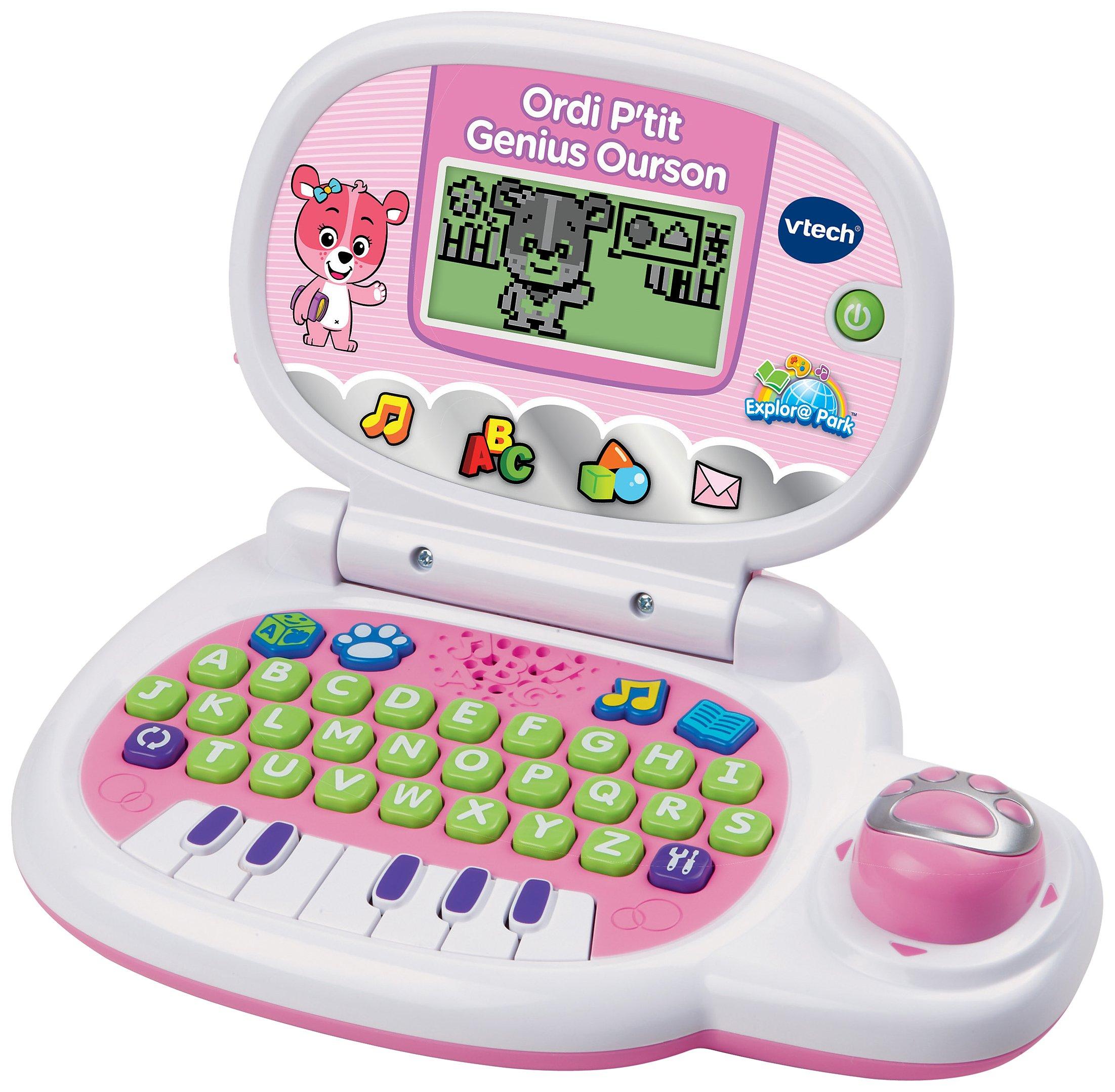Vtech - 139555 - Jeu électronique - Ordinateur P'tit - Genius Ourson - Rose product image