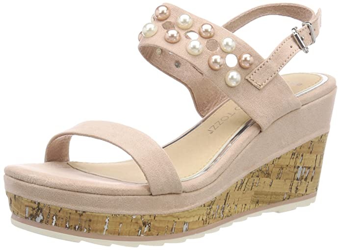Womens 28376 Wedge Heels Sandals Marco Tozzi GQLZC
