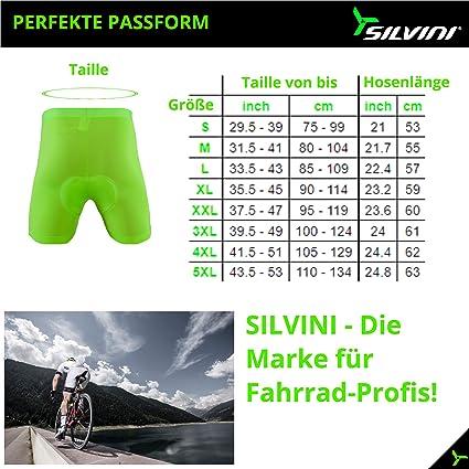 uomo da uomo da uomo Pantaloncini da ciclismo con imbottitura per ciclismo Silvini Inner Pro imbottiti per MTB