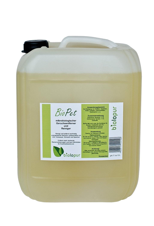 Biolopur | Geruchsneutralisierer | Geruchsentferner | Urin Reiniger Spray etc. | 1:10 KONZENTRAT