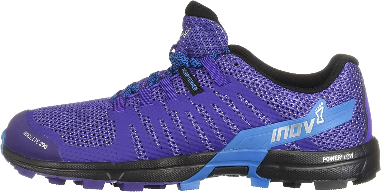 W inov-8 Womens Roclite 290 Trail Running Shoe 4.5 UK Purple//Blue