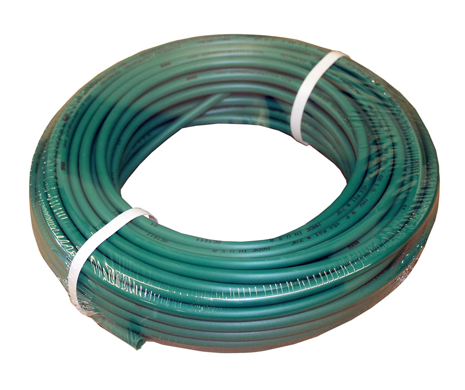 ATP IMBIBE NSF 61 Polyethylene Plastic Tubing, Green, 11/64' ID x 1/4' OD, 100 feet Length 11/64 ID x 1/4 OD Advanced Technology Products (ATP)