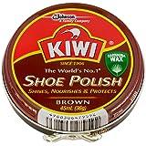 KIWI 油性靴クリーム 茶系用 45ml