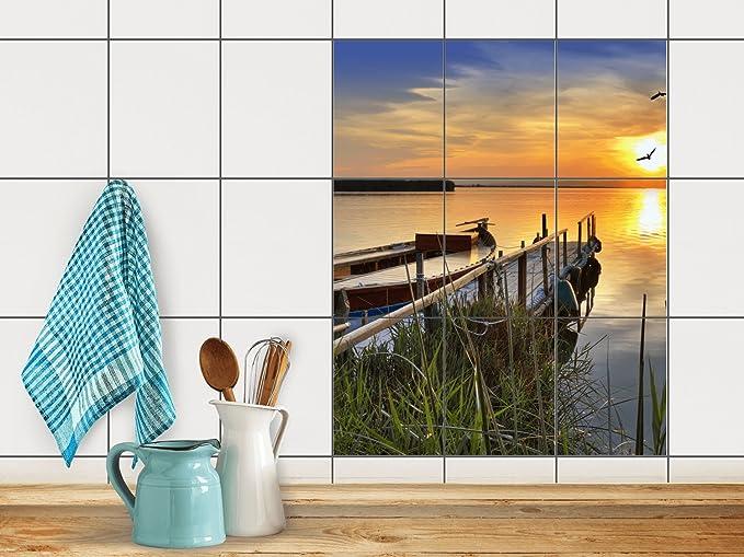 Amazon.de: Creatisto Dekorfliesen, Küchenfliesen | Fliesenfolie Sticker  Aufkleber Bad Küche