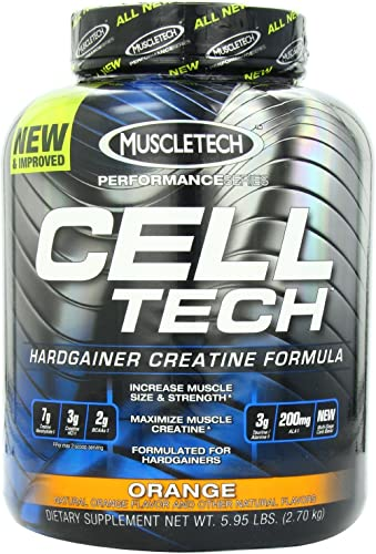 MuscleTech Performance Series Cell-Tech – Orange, 6.0 lbs 2.7 kg