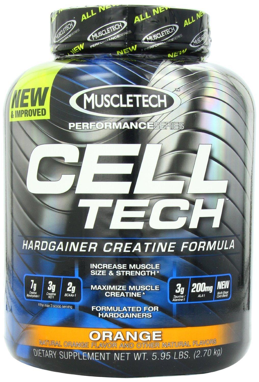 Muscletech Cell Tech Performance Series Powder, Orange, 6 Pounds ( Multi-Pack)