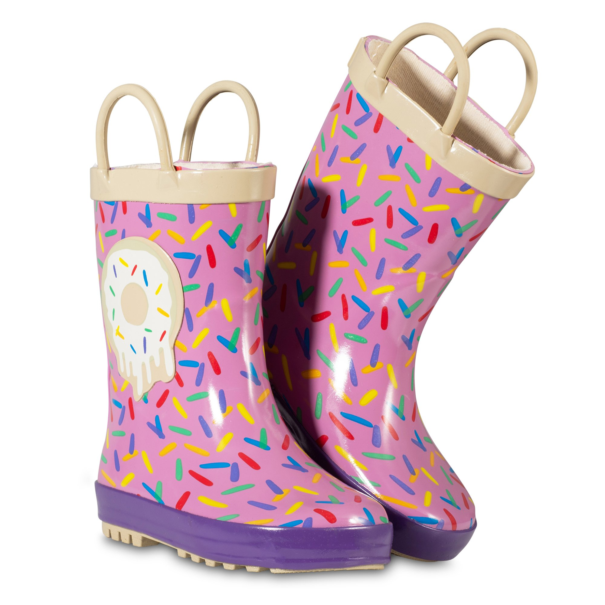 ZOOGS Children's Rubber Rain Boots, Little Kids & Toddler, Boys & Girls Patterns by ZOOGS (Image #3)
