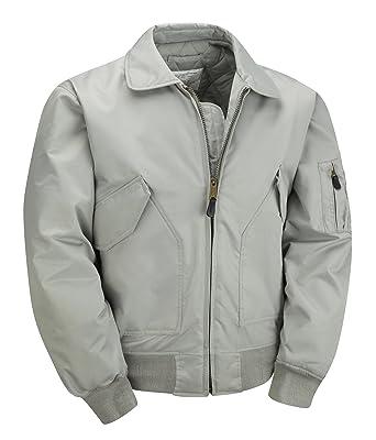 MA2 CWU Bomber Flight Jacket - Silver: Amazon.co.uk: Clothing