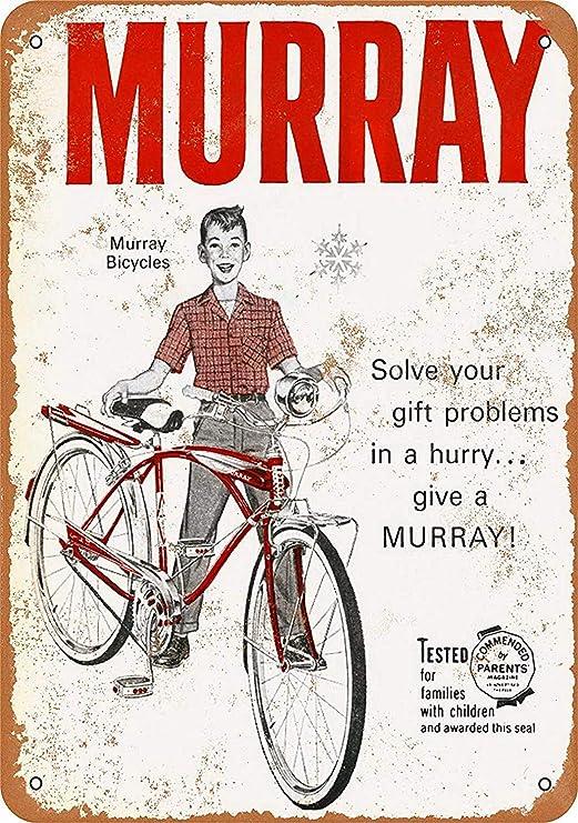 Murray Bicycles Póster De Pared Metal Retro Placa Cartel ...