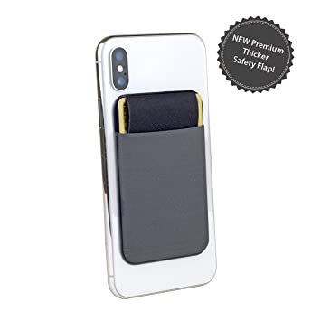 Funda para teléfono móvil, con tarjetero para la parte trasera del teléfono, con tarjetero, para tarjeta de teléfono, soporte para tarjeta de iPhone, ...