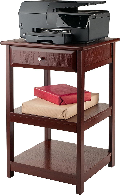 Winsome Delta Home Office, Walnut: Furniture & Decor