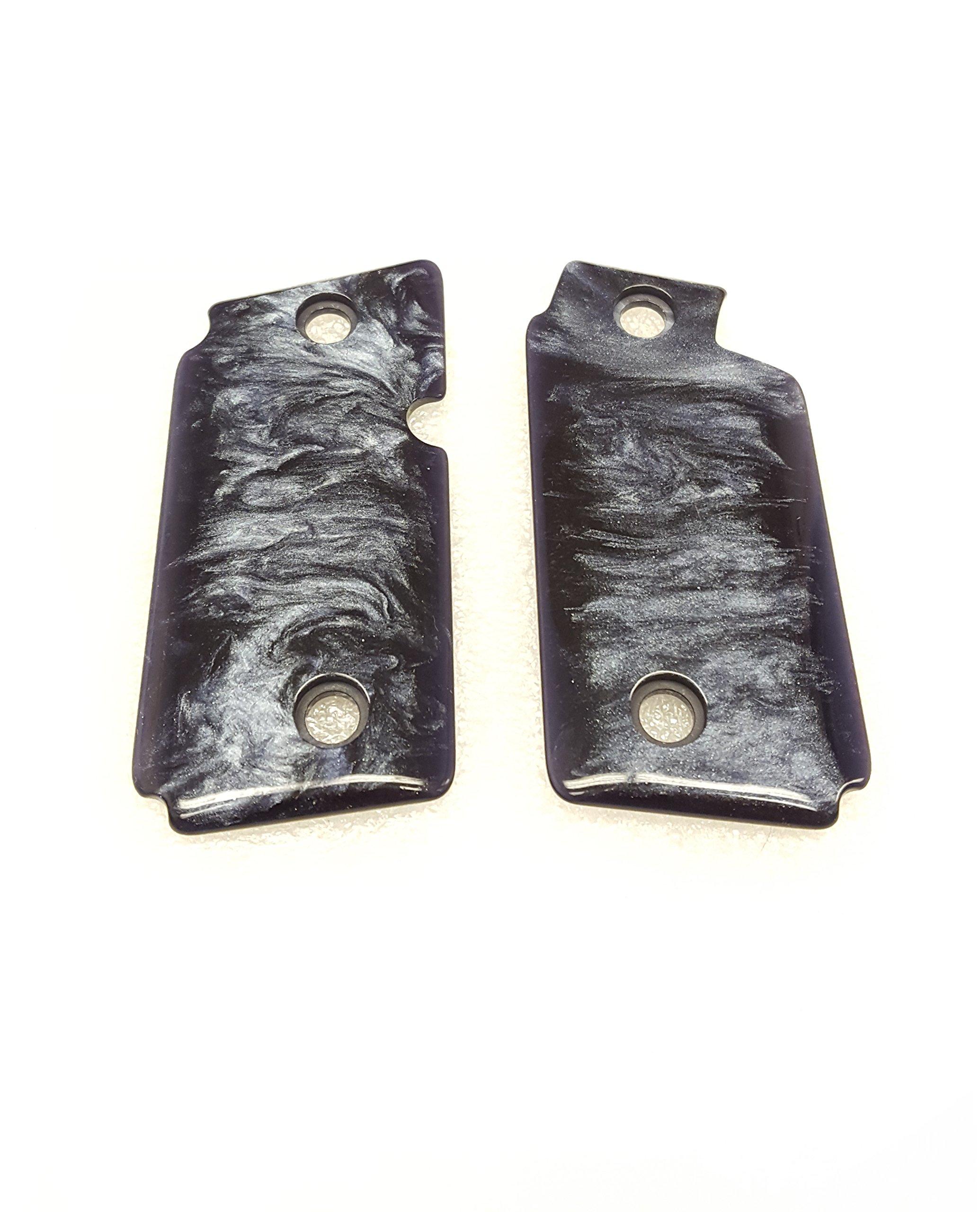 Sig Sauer SigTac P238 Pearlite Black Grips w/ Screws - GRIP-238-PEARLITE-BLK