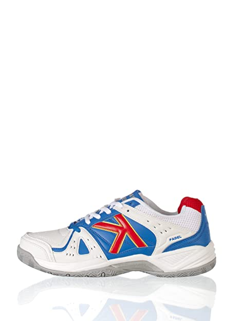 Kelme Zapatillas Casual Amazon Padel Blanco/Royal 39: Amazon.es: Zapatos y complementos