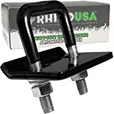 Rhino USA Hitch Tightner Anti-Rattle Clamp - Heavy Duty Stainless Steel 304 Stabilizer for 1.25 and 2 inch Hitches - Protective Anti-Rust Coating Included on All Rhino Products.