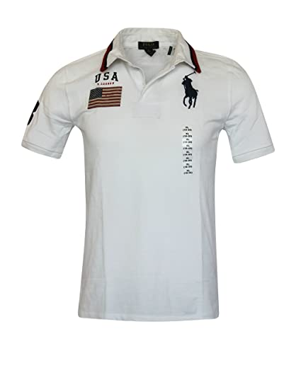 4e020e539b1c4 Polo Ralph Lauren BIG KIDS BOYS mesh Classic Fit BIG pony USA COTTON Shirt  (XXS