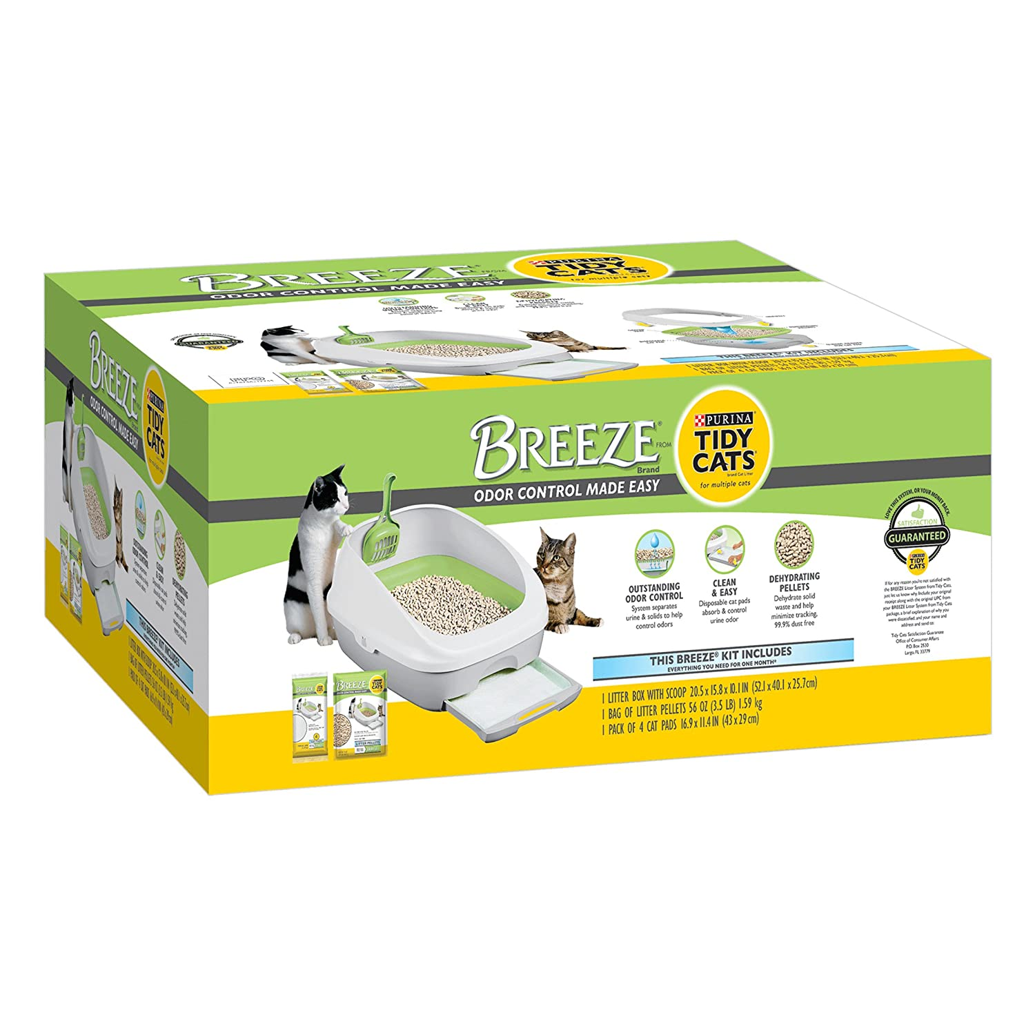 Amazon Purina Tidy Cats BREEZE Cat Litter Box System Pet