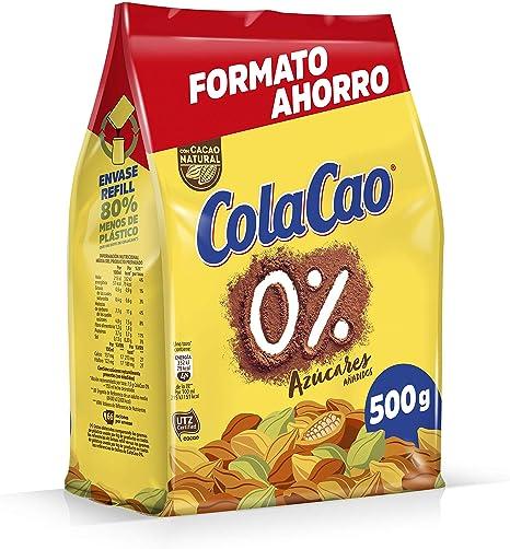 Image of ColaCao Colacao 0% Azúcares Añadidos - 500 g
