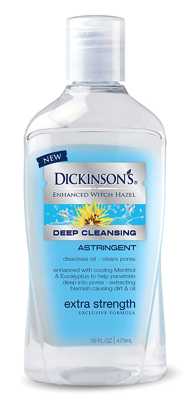 Dickinson's Enhanced Witch Hazel Extra Strength Deep Cleansing Astringent, 16 Fluid Ounce