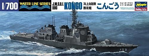 ハセガワ 1/700 ウォーターラインシリーズ 海上自衛隊 イージス護衛艦 こんごう プラモデル 027