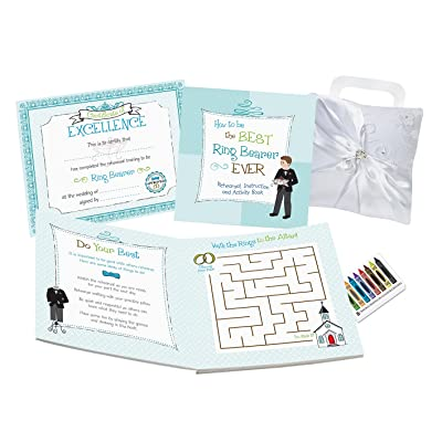 Lillian Rose Ring Bearer Activity Book: Home & Kitchen