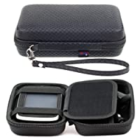 Black Hard Carry Case For TomTom Via 53 52 Start 25 52 50 Go 50 & 5'' GPS Sat Nav With Accessory Storage and Lanyard