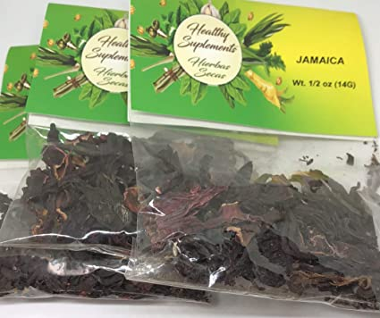 Amazon.com : Jamaica (Hibiscus) Hierba-Tea : Everything Else