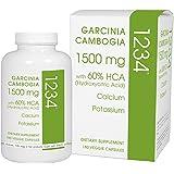Creative Bioscience Garcinia Cambogia 1234 Diet Supplement, 180 Count