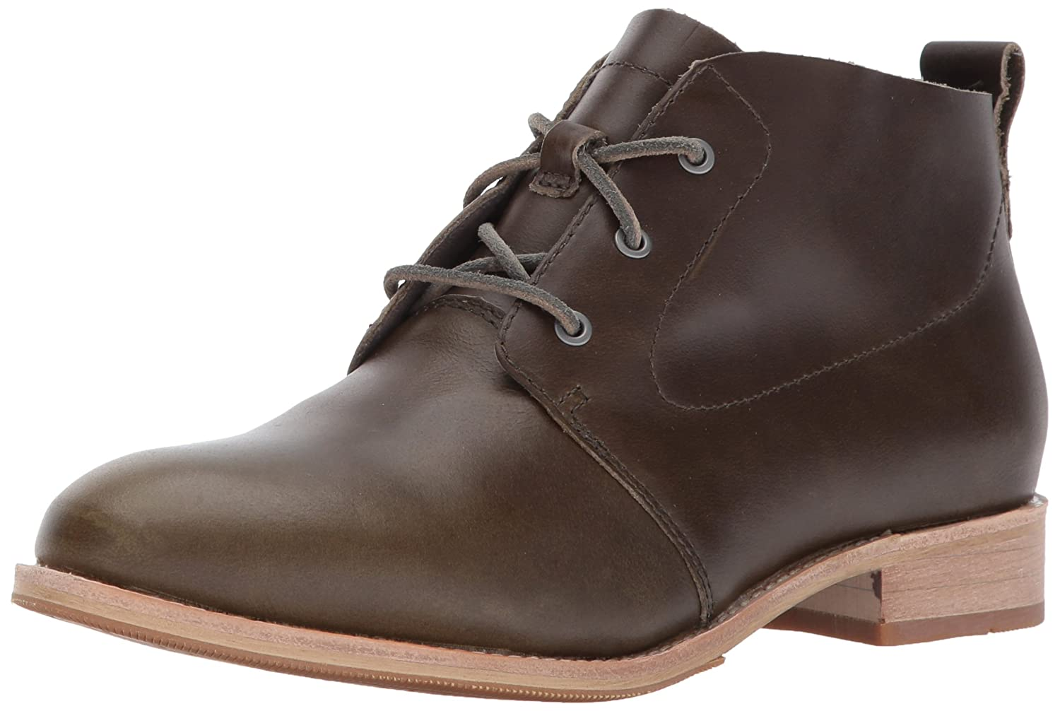 Caterpillar Women's Hester 3 Eyelet Leather Chukka Bootie Ankle Boot B01NBKCA0A 6 M US|Olive