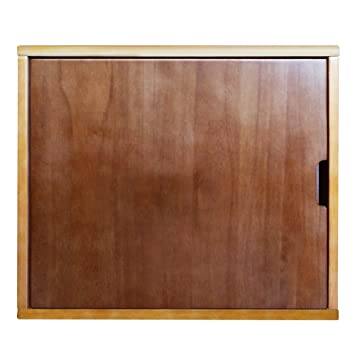 Philociety Solid Natural Wood Cat Litter Box Enclosure Furniture
