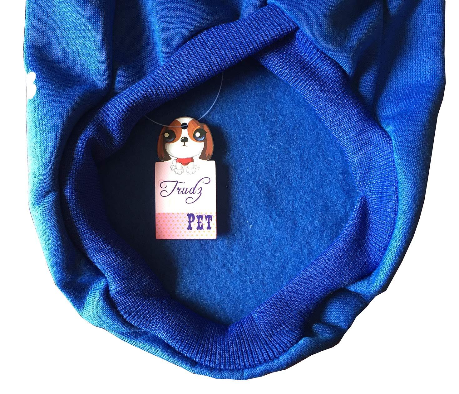 Cotton Jacket Sweat shirt Coat for Small Dog /& Medium Dog /& Cat Fleece Basic Hoodie Sweater Apparel Rdc Pet Adidog Dog Hoodies Navy Blue,S