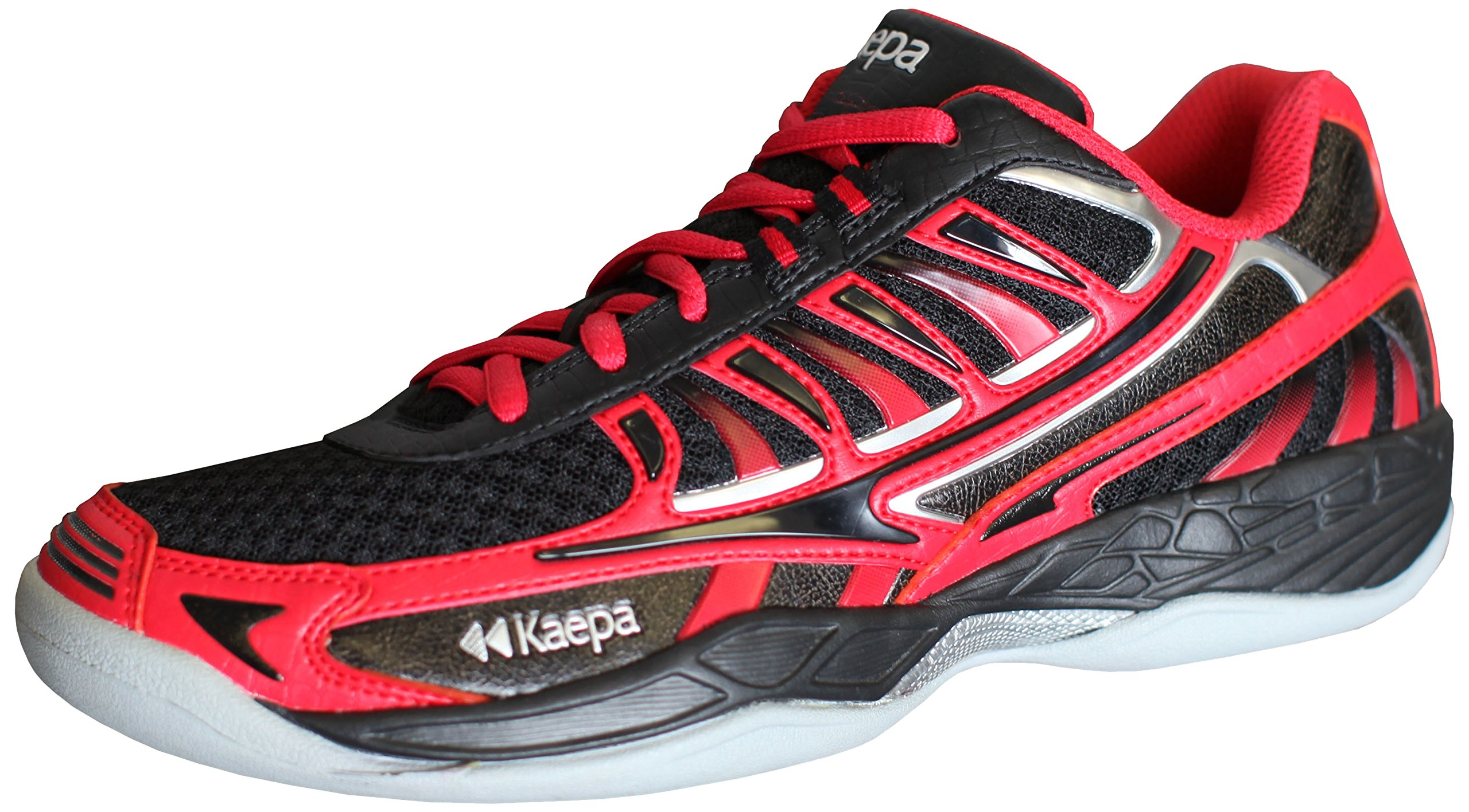 Kaepa Women's Heat Volleyball Shoes, Red, 6.5