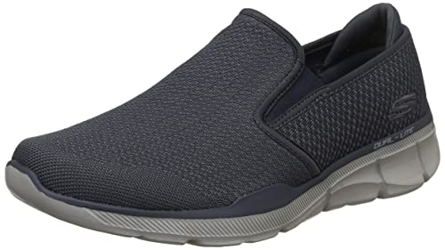 e1d5142a4923 Skechers Men s Equalizer 3.0-Asures Navy and Gray Sneakers-10 UK India (